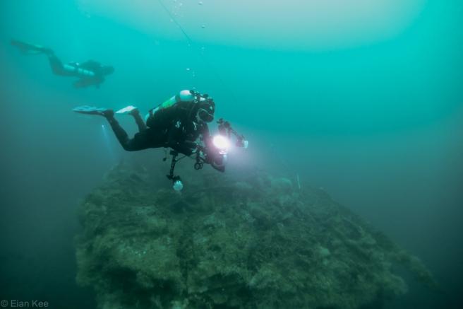 Mogami Maru diver by Eian Kee