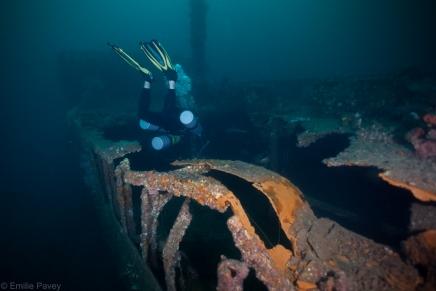 Mogami Maru, cargo hold