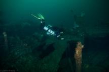 Diver at Mogami Maru