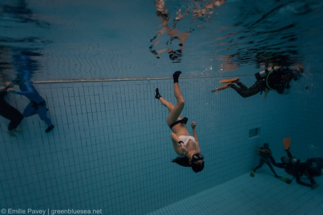 Freediver with superpowers